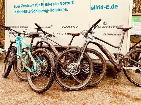 E-Bike-Testfahrt