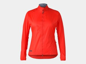 Bontrager Jacket Circuit Rain Women Medium Radioactive Red