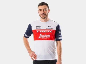 Shirt Santini Trek-Segafredo Tech Tee M Dark Blue