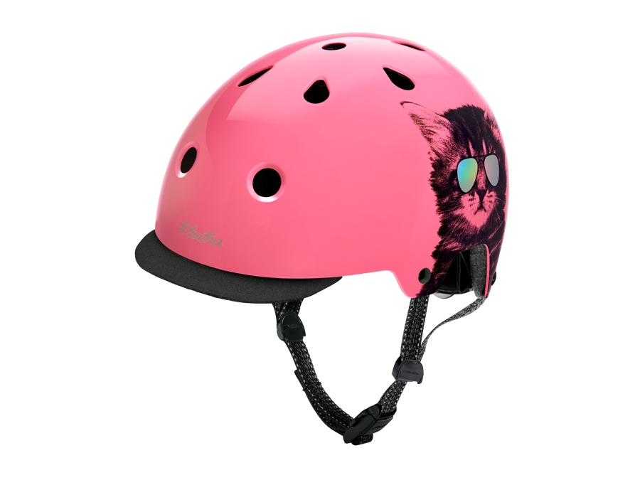 Electra Helmet Lifestyle Lux Cool Cat Large Pink CE