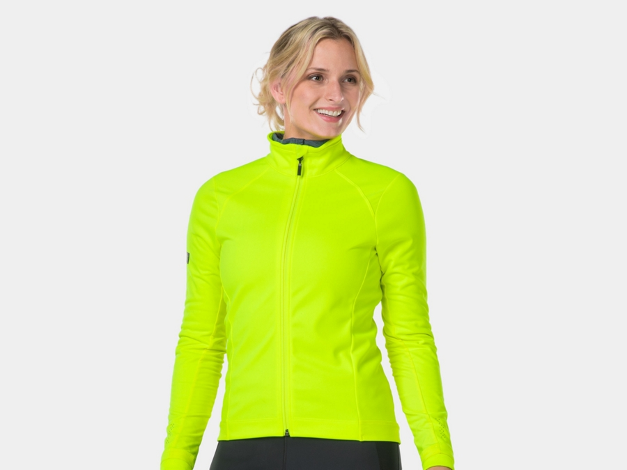 Bontrager Jacket Velocis Softshell Women S RadioactiveYellow