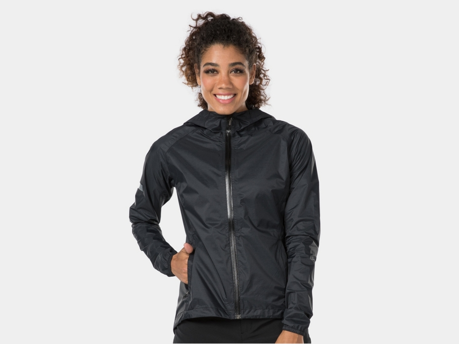 Bontrager Jacket Avert Bike Rain Women Medium Black