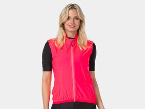 Bontrager Vest Circuit Wind Women Medium Radioactive Pink