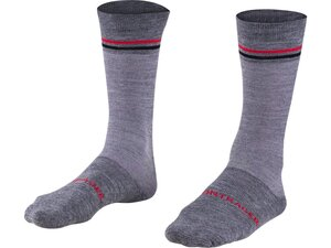 Bontrager Sock Thermal Wool Crew Small (37-39) Dark Grey